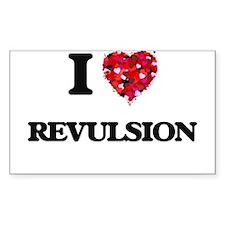 I Love Revulsion Decal