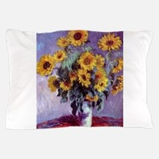 Bouquet of Sunflowers by Claude Monet Pillow Case