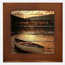 rustic Framed Tile