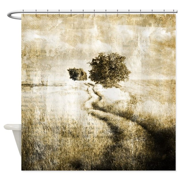 rustic Shower Curtain by listing store