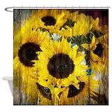 Sunflower Shower Curtains