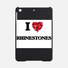 I Love Rhinestones iPad Mini Case