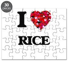 I Love Rice Puzzle
