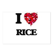 I Love Rice Postcards (Package of 8)