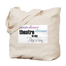 Theatre Passion Tote Bag