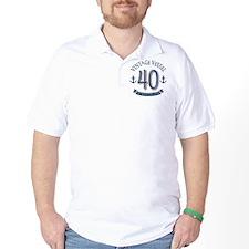 Nautical 40th Birthday T-Shirt