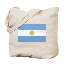 Flag of Argentina Tote Bag
