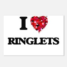 I Love Ringlets Postcards (Package of 8)