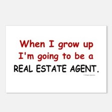 Real Estate Agent (When I Grow Up) Postcards (Pack