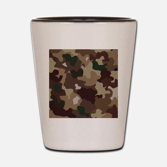 camouflage Shot Glass
