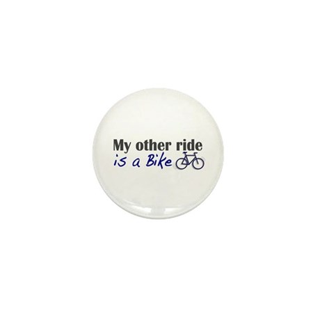 Other ride is a bike Mini Button (10 pack)