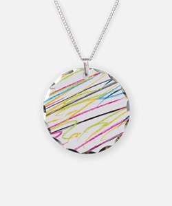 Colored Pencil Drawings Necklace