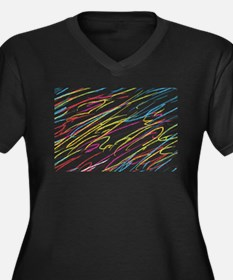 Colored Pencil Drawings Plus Size T-Shirt