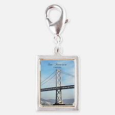 San Francisco Silver Portrait Charm