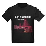 Golden gate bridge Kids T-shirts (Dark)