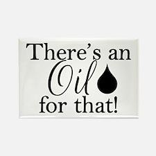 Oil for that bk Rectangle Magnet