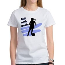 Girl with goals Tee