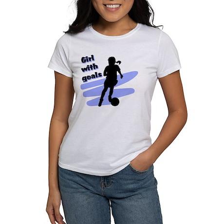 Girl with goals Women's T-Shirt