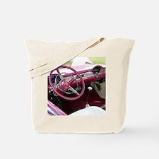 Purple Chevy Bel Air Tote Bag