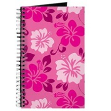 Shades of pink Hawaiian Hibiscus Journal
