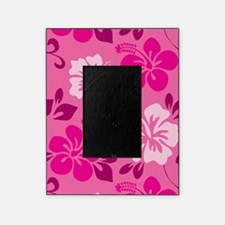 Shades of pink Hawaiian Hibiscus Picture Frame