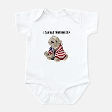 Truthiness Bear Infant Bodysuit