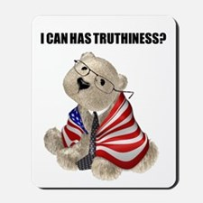 Truthiness Bear Mousepad
