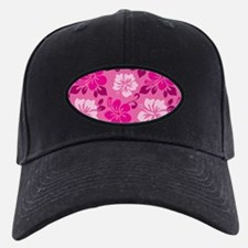 Shades of pink Hawaiian Hibiscus Baseball Hat