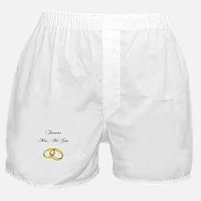 FUTURE MRS. McGEE Boxer Shorts