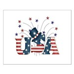 USA Fireworks Small Poster