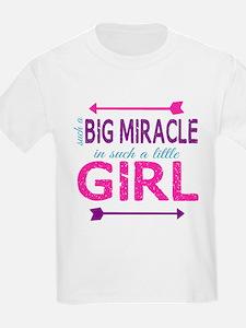Big Miracle, Little Girl T-Shirt