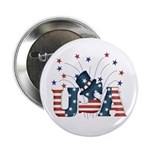 USA Fireworks Button