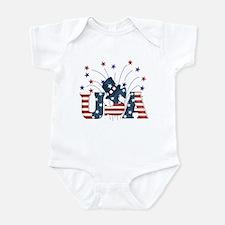 USA Fireworks Infant Bodysuit