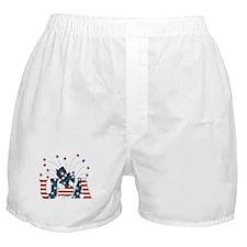 USA Fireworks Boxer Shorts