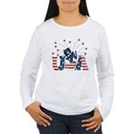 USA Fireworks Women's Long Sleeve T-Shirt