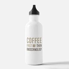 Coffee Then Endocrinol Water Bottle