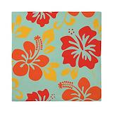 Hawaiian hibiscus Queen Duvet Covers