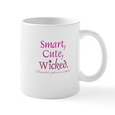 Smart, Cute, Wicked Mug