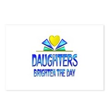 Daughters Brighten the Da Postcards (Package of 8)