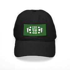 Funny Golf 40th Birthday Baseball Cap