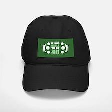 Funny Golf 40th Birthday Baseball Hat