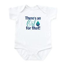 Oil for that blteal Infant Bodysuit