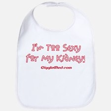Too Funny Kidneys Bib