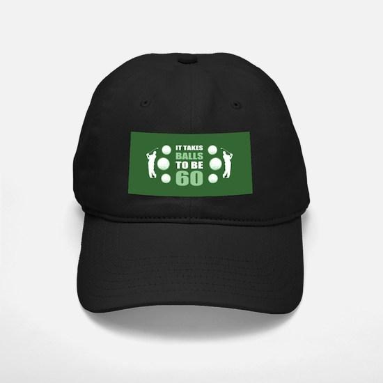 Funny Golf 60th Birthday Baseball Hat