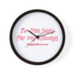 Too Funny Kidneys Wall Clock
