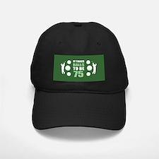 Funny Golf 75th Birthday Baseball Cap