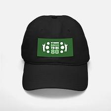 Funny Golf 80th Birthday Baseball Hat