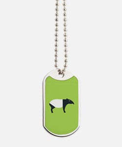 Cute Tapir Dog Tags