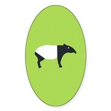 Cute Malayan tapir Decal