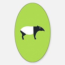 Unique Malayan tapir Decal